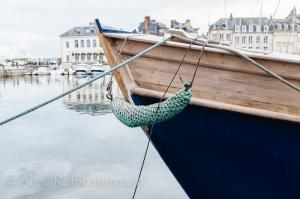 Blue Boat - Honfleur, France