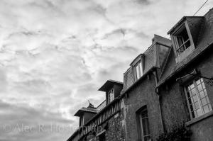 Cat on a Hot Tin Roof - Honfleur, Normandy