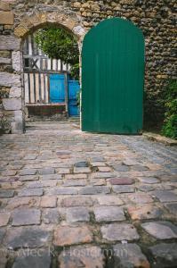 Green Door - Normandy, France