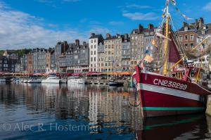 Fishing Village - Honfleur, Normandy