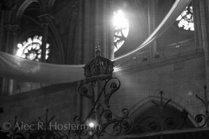 Inside Notre Dame - Paris, France