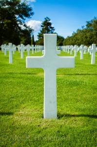 American Cemetery - Normandy, France