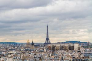 Eiffel Tower from Afar - Paris, France